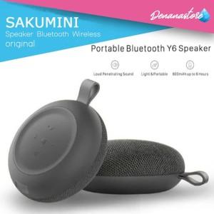 Harga ori speaker portable bluetooth wireless y6 round sakumini | HARGALOKA.COM