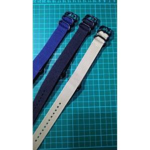 Harga tali jam tangan zulu strap ukuran 20mm macam warna   | HARGALOKA.COM