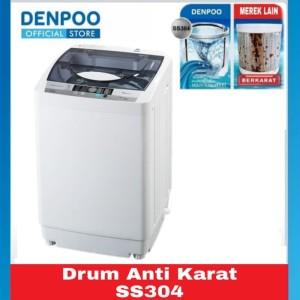 Harga mesin cuci 1 tabung otomatis denpoo dwf 083ht | HARGALOKA.COM