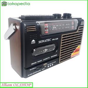 Harga radio kaset sonatec pr 329 usb sd card am fm portable | HARGALOKA.COM