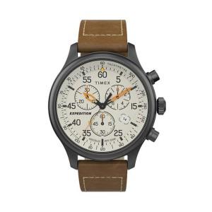 Harga jam tangan timex expedition gunmetal cream chrono | HARGALOKA.COM
