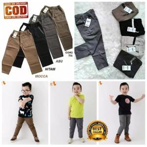Harga celana chinos panjang anak 0 10th harga promo   warna acak 6 12 | HARGALOKA.COM