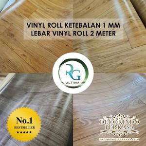 Harga karpet vinyl roll 1 mm rg ultima harga per m2 lantai vinyl motif kayu   | HARGALOKA.COM