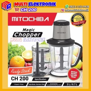 Harga food chopper mitochiba | HARGALOKA.COM