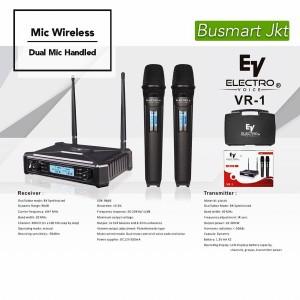 Harga mic wireless ev electro voice vr1 mic ev vr 1 dual | HARGALOKA.COM
