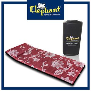 Harga kasur lantai rebounded travel bed kasur lipat elephant   flora | HARGALOKA.COM