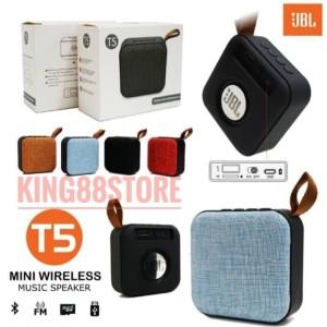 Harga speaker bluetooth wireless jbl t5 suara extra bass grade a plus     HARGALOKA.COM