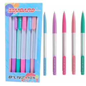 Harga standard pen pulpen b 39 live nox 0 3 isi 12 ballpoint blive nox   | HARGALOKA.COM