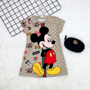 Harga dress anak dress anak korea baju anak dress anak mickey x gucci     HARGALOKA.COM