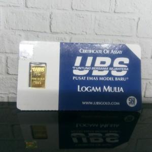 Harga 1 gram emas ubs logam | HARGALOKA.COM