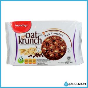Harga munchys biskuit biscuit coklat   oat krunch dark chocolate 208 | HARGALOKA.COM