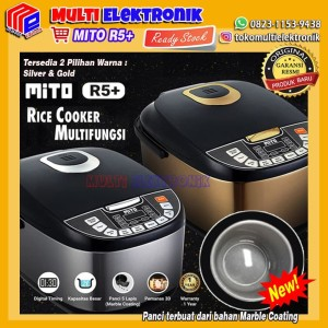 Harga mito digital rice cooker 2l 8in1 magic com mito promo   | HARGALOKA.COM