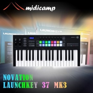 Harga keyboard midi controller novation launchkey 37 | HARGALOKA.COM