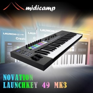 Harga keyboard midi controller novation launchkey 49 | HARGALOKA.COM
