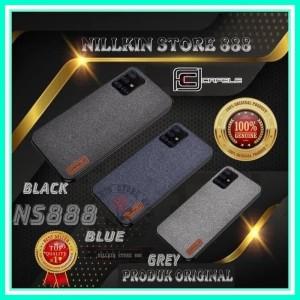 Harga nokia x6 6 1 plus denim fabric cafele original hard soft case | HARGALOKA.COM
