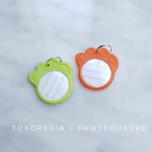 Harga d2 custom tag nama kalung anjing kucing hewan tali kalung lonceng   | HARGALOKA.COM