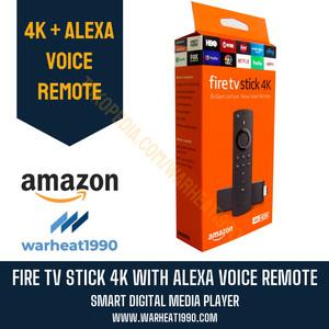 Harga amazon fire tv stick 4k with alexa voice remote ultra hd hdmi | HARGALOKA.COM