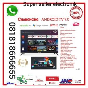 Harga changhong google certified android smart tv 40 inch 40h4 led tv | HARGALOKA.COM
