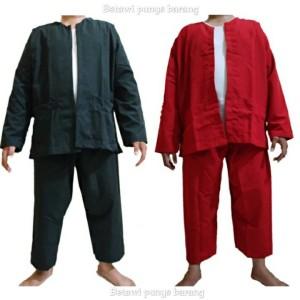 Harga baju pangsi khas betawi   merah | HARGALOKA.COM