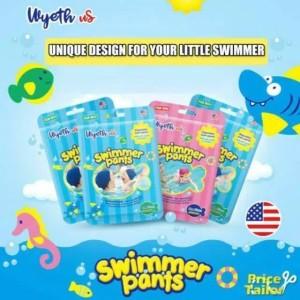 Harga popok renang bayi swim diapers diaper renang wyeth usa   boy m 6 11 | HARGALOKA.COM