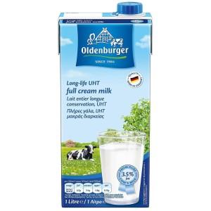 Harga susu uht full cream oldenburger 1l premium | HARGALOKA.COM