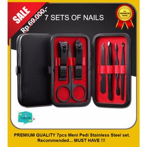 Katalog Premium Gunting Kuku Set 7 Pcs Alat Manicure Pedicure Stainless Steel Katalog.or.id