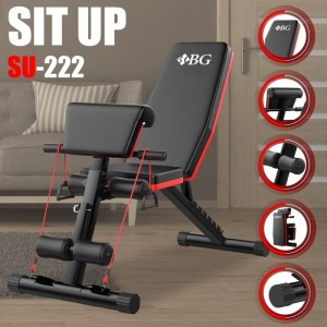 Harga alat olahraga sit up bench su 222 papan sit up | HARGALOKA.COM