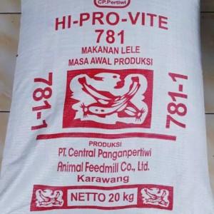 Harga hi pro vite 781 1 repack 1kg pakan lele pelet ikan   HARGALOKA.COM