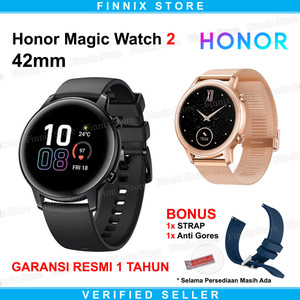 Harga huawei honor magic watch 2 42mm smartwatch amoled always on display     HARGALOKA.COM