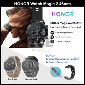 Harga huawei honor magic watch 2 46mm smartwatch 1 39 inch amoled display     HARGALOKA.COM