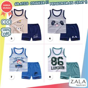 Harga zf52 baju anak bayi setelan singlet 6   12 bulan import 2   8 86 | HARGALOKA.COM