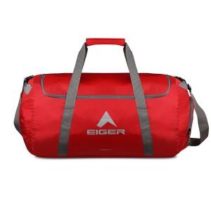 Harga eiger folded duffel bag l concisor 60l   merah all | HARGALOKA.COM
