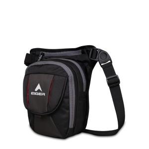 Harga eiger leg pack scoria 7 1 1a legpack   hitam all | HARGALOKA.COM