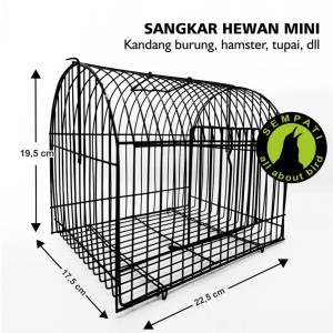 Harga sangkar kandang besi mini untulan burung sugar glider hamster smini   merah   HARGALOKA.COM