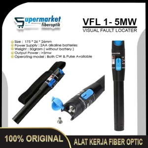 Harga vfl 1mw senter optik visual fault locator fo fiber optic | HARGALOKA.COM