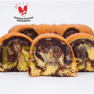 Harga premium full wijsman marmer cake bolu marmer marble cake | HARGALOKA.COM