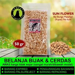 Harga safflower biji bunga matahari kuaci kwaci kupas pakan burung | HARGALOKA.COM