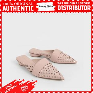 Harga sepatu flat shoes charles and keith original   pink | HARGALOKA.COM