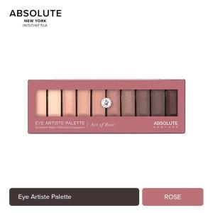 Harga absolute new york 10 colors art of rose eyeshadow palette | HARGALOKA.COM