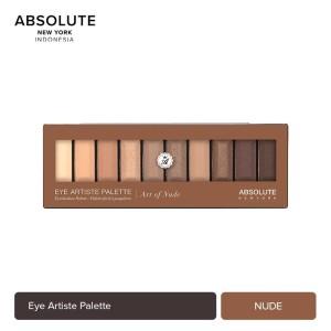 Harga absolute new york 10 colors art of nude eyeshadow palette | HARGALOKA.COM