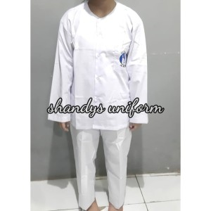 Harga seragam sekolah tk al azhar model baju muslim anak perempuan   | HARGALOKA.COM