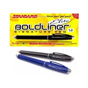 Harga standard pena boldliner elite 1 0 1 pack 12 pcs   | HARGALOKA.COM