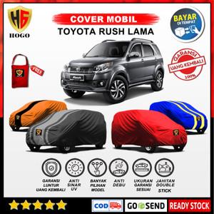 Harga body cover sarung mobil rush lama selimut tutup mantel penutup toyota   polos model a foto no | HARGALOKA.COM