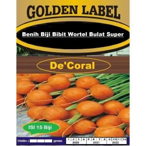 Harga benih biji bibit wortel bulat super isi 65 biji bibit wortel | HARGALOKA.COM
