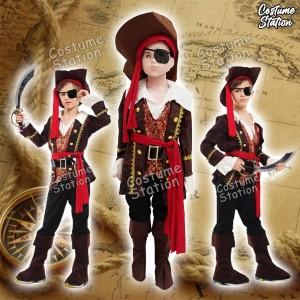 Harga kostum bajak laut costume pirate anak laki   size | HARGALOKA.COM