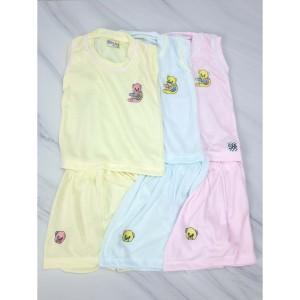 Harga setelan single bayi hunday 6 9 bulan harga 3 set baju | HARGALOKA.COM