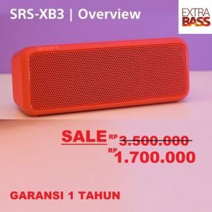 Harga sony original wireless speaker srs xb3 extra bass   | HARGALOKA.COM