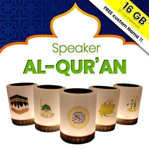 Harga speaker quran lampu led 30 juz chip memory speaker al quran   random | HARGALOKA.COM