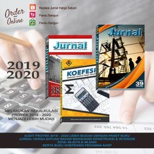 Harga paket jurnal bahan bangunan edisi 38 2019 39 2020 amp buku | HARGALOKA.COM