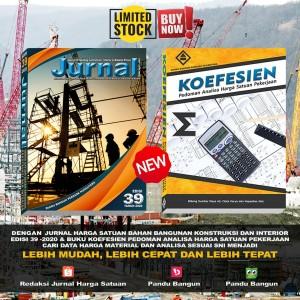 Harga paket jurnal bahan bangunan edisi 39 2020 amp buku   HARGALOKA.COM